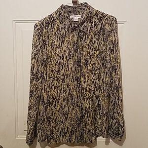 Liz Claiborne medium sheer blouse